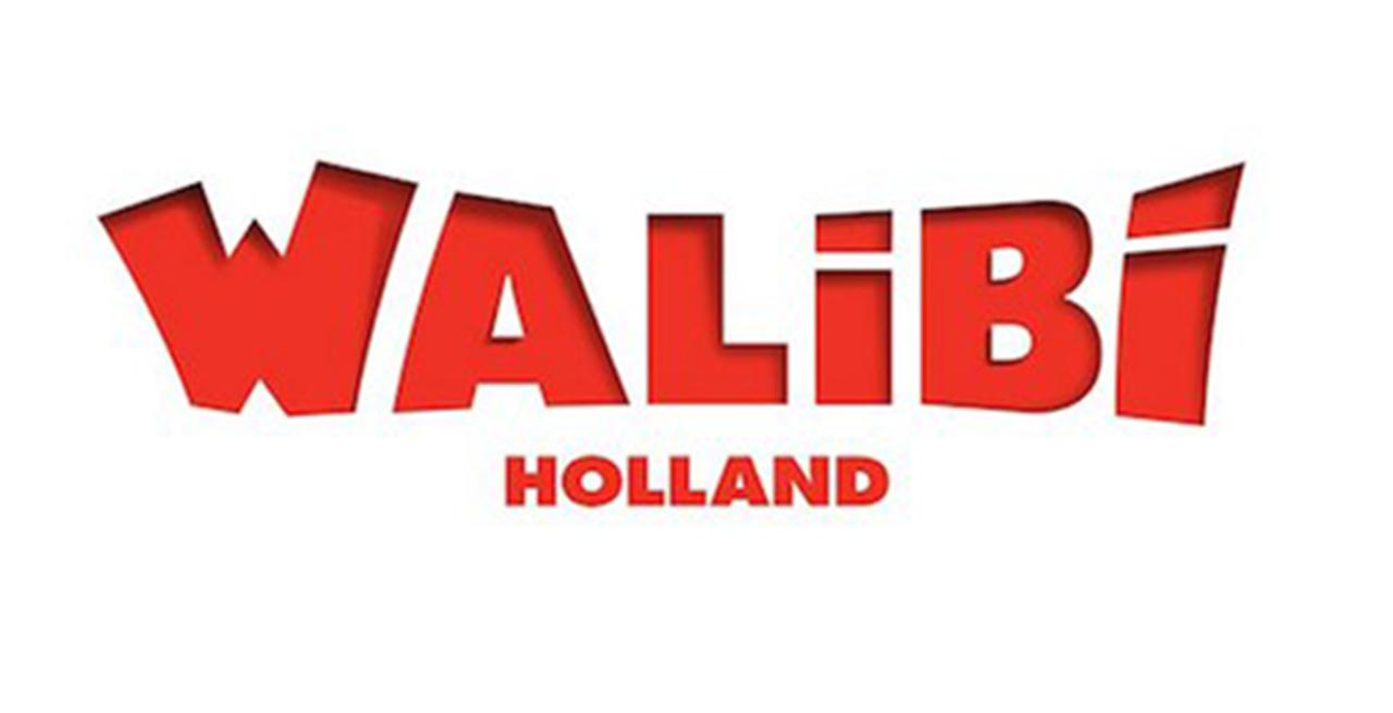 Het logo van attractiepark, Walibi Holland